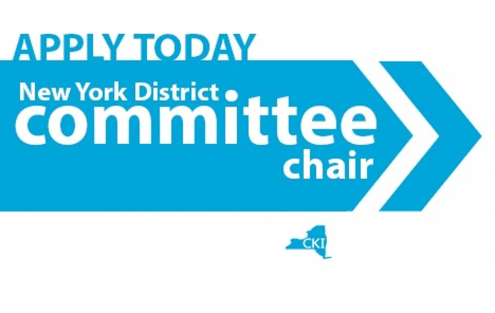 Committee Chair Applications are Now Live!