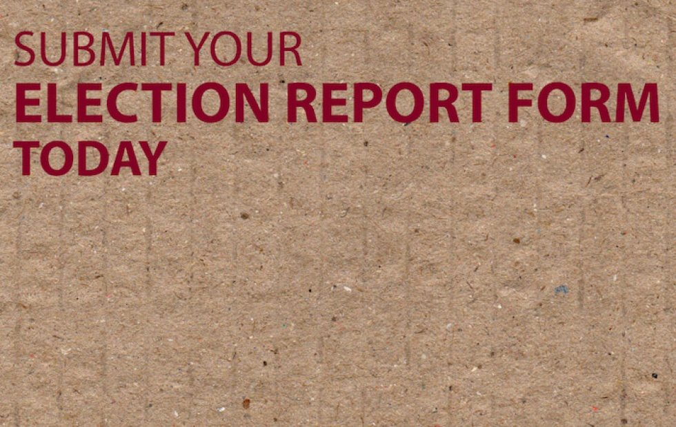Election Report Form 2016-2017