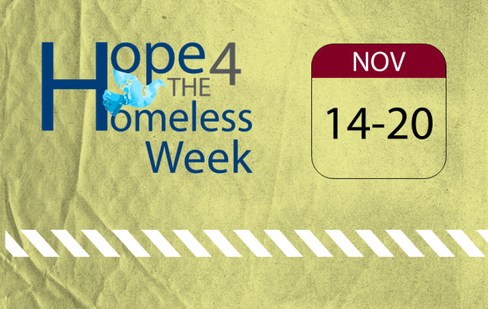 Hope 4 The Homeless Week