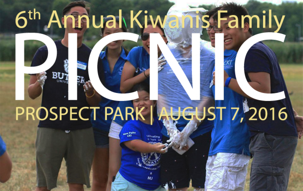 Come with us to the 6th Annual Kiwanis Family Picnic!