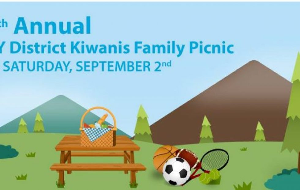 Join Us for the 7th Annual Kiwanis Family Picnic!