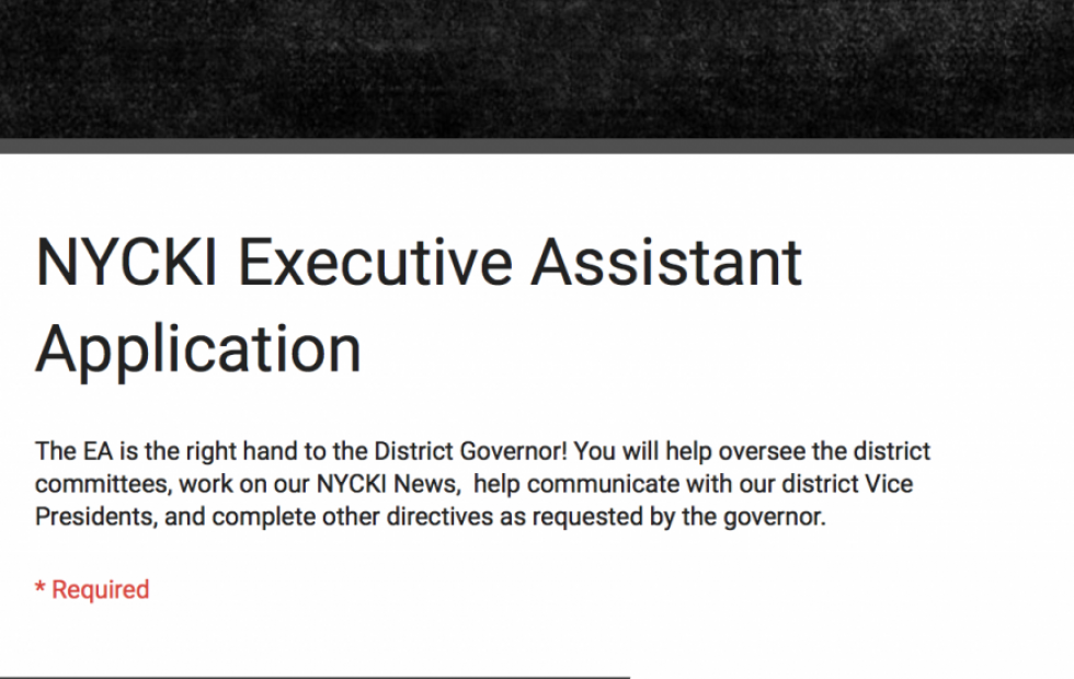 Executive Assistant Application